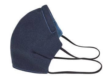 Mimi Fong Face Mask in Blue & Slate