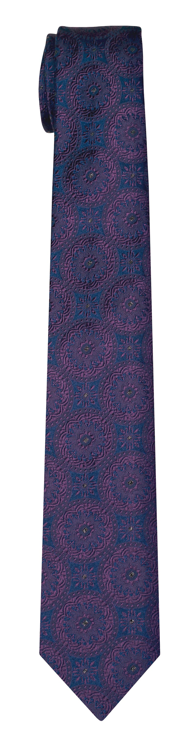 Mimi Fong Coin Tie in Midnight