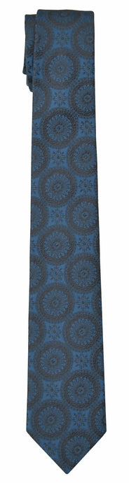 Mimi Fong Coin Tie in Royal