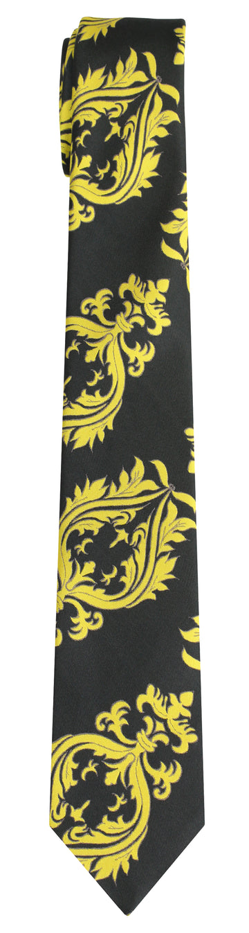 Mimi Fong Crest Tie in Seaweed