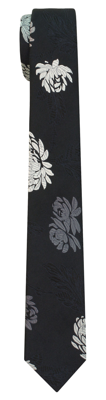 Mimi Fong English Garden Tie in Black