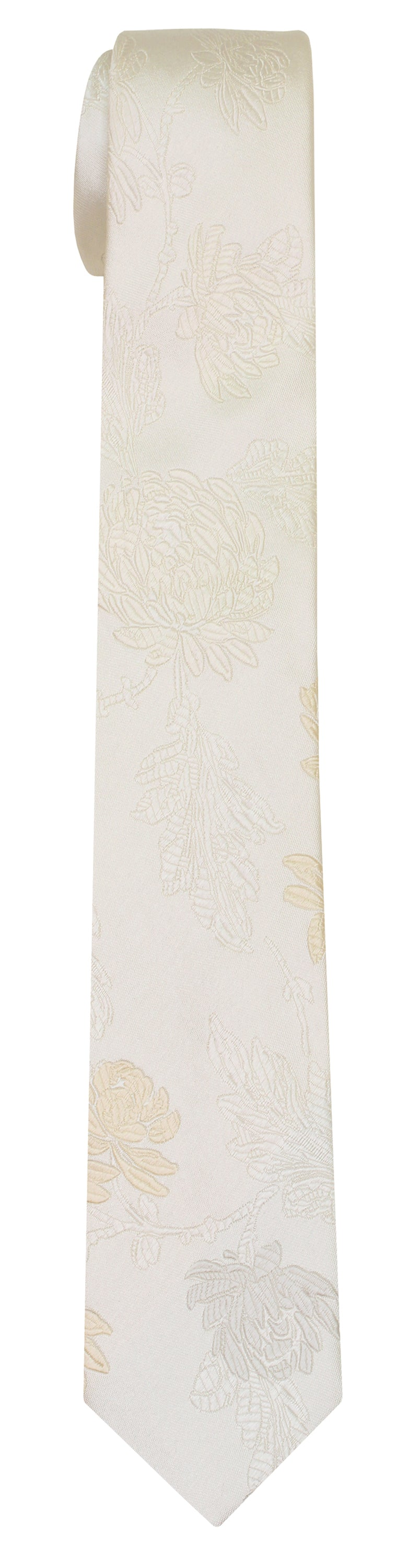 Mimi Fong English Garden Tie in Pearl