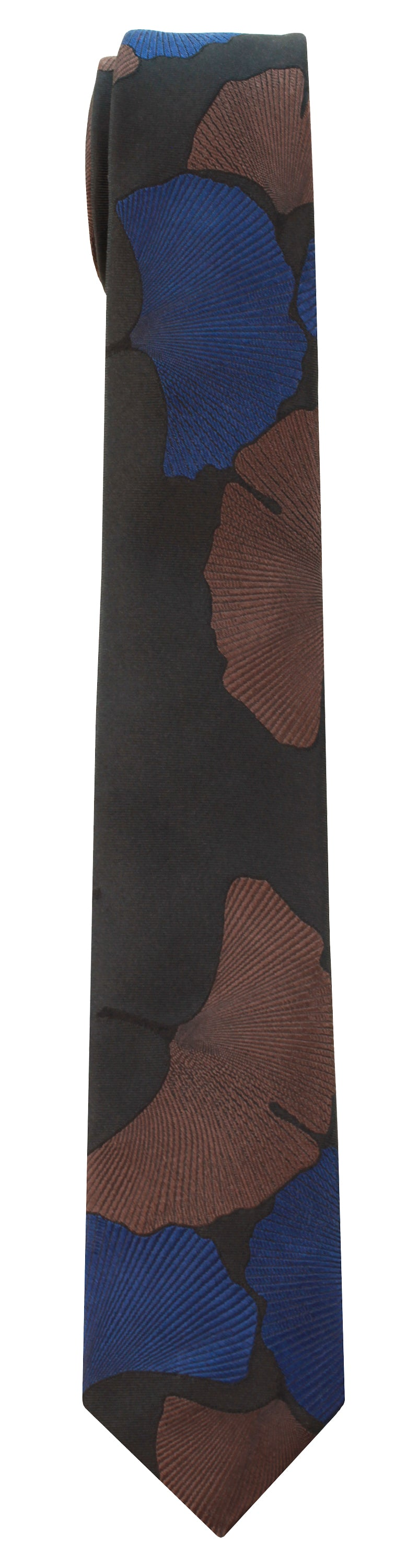 Mimi Fong Ginkgo Tie in Midnight