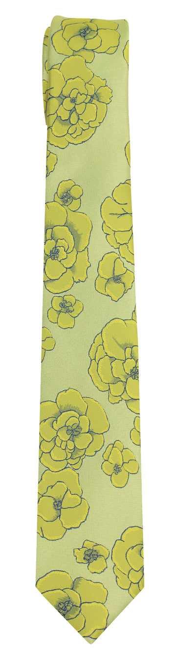 Mimi Fong Maitake Tie in Yellow