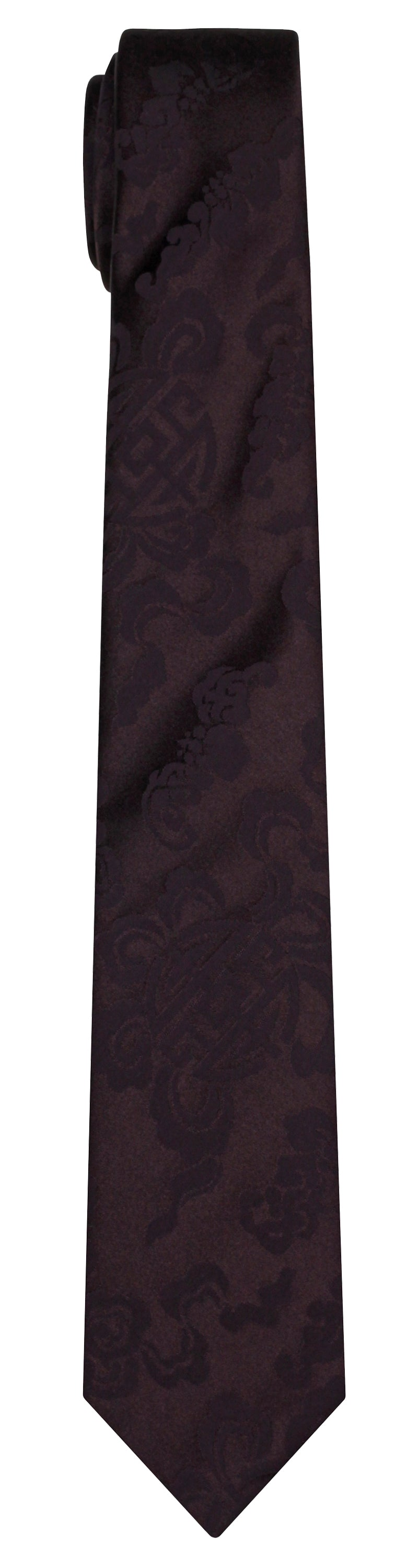 Mimi Fong Nebula Tie in Brown