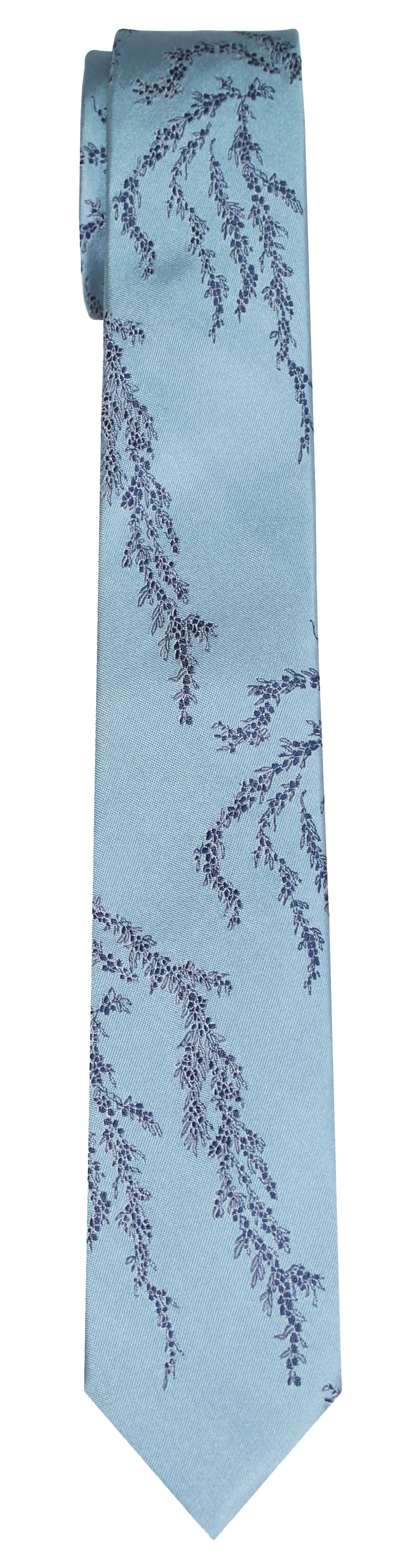 Mimi Fong Seaweed Tie in Light Blue