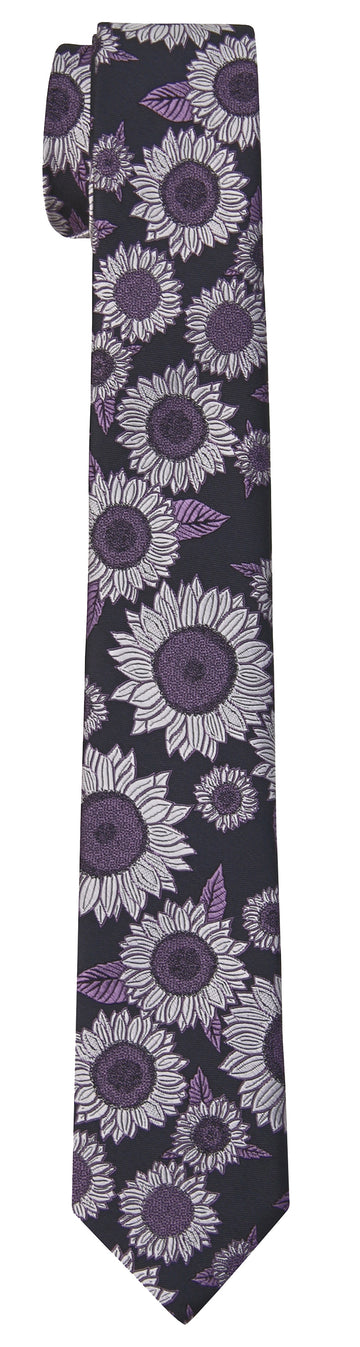 Mimi Fong Sunflower Tie in Mist