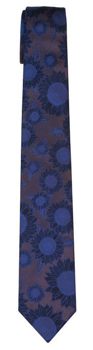 Mimi Fong Sunflower Tie in Oreo