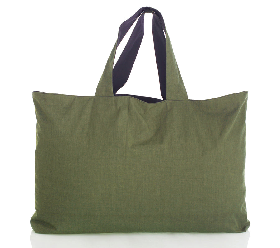 Mimi Fong Reversible Unibag in Charcoal & Olive