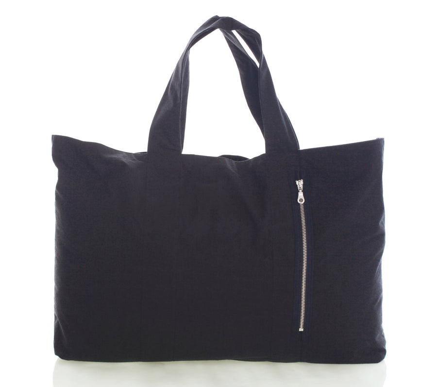 Mimi Fong Reversible Unibag in Charcoal with Easy Access Pocket