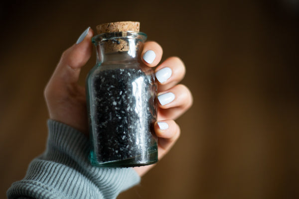 Black Lava Bath Salts