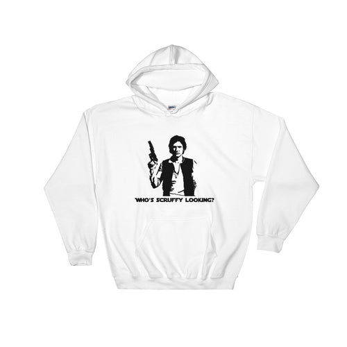 Who's Scruffy Looking? Hooded Sweatshirt