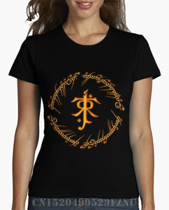 Lord of the Rings One Ring Rune - Women's T-Shirt