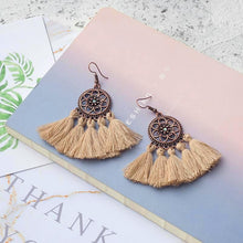 Panama Tassel Earrings