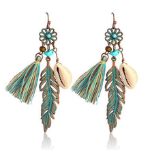 Mermaid Tassel Earrings KEISELA