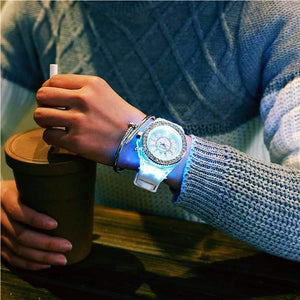 Sporty Bling LED Watch