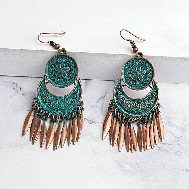 Old World Boho Earrings KEISELA