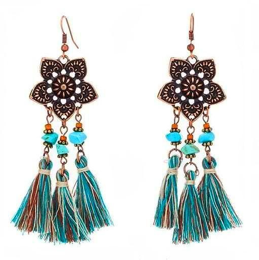 Aruba Tassel Earrings