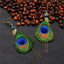 Bali Bliss Feather Earrings