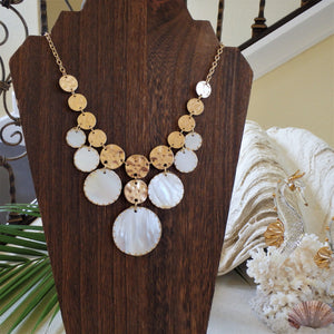 Capiz Shell Necklace KEISELA