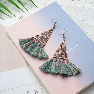 Atlantis Mermaid Tassel Earrings