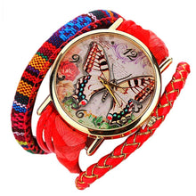 Butterfly Wrap Boho Watch