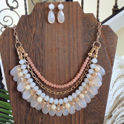 Seaside Coral Necklace KEISELA