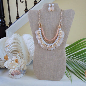 Mermaid Coral Necklace KEISELA