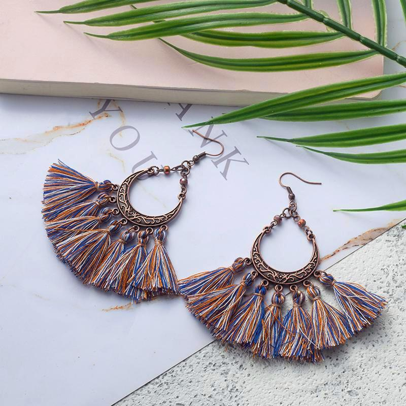 Indies Tassel Earrings KEISELA