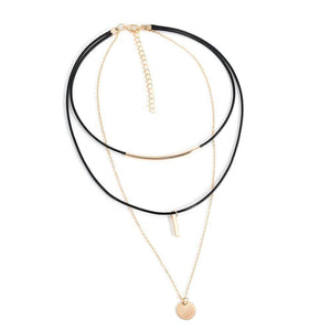 Bella Multi-Layer Choker Necklace