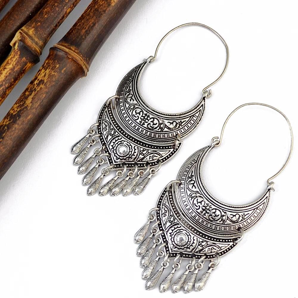 Greek Goddess Boho Earrings KEISELA