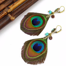 Cayman Islands Feather Earrings