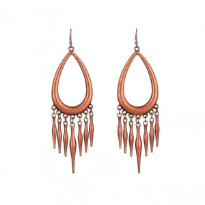 Bermuda Drop Boho Earrings