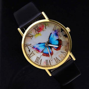 Morpho Blue Butterfly Watch