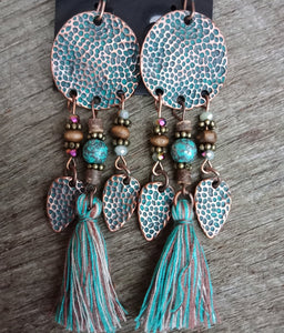 Ettika Tassel Earrings KEISELA
