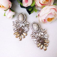 Arenia Crystal Stud Earrings