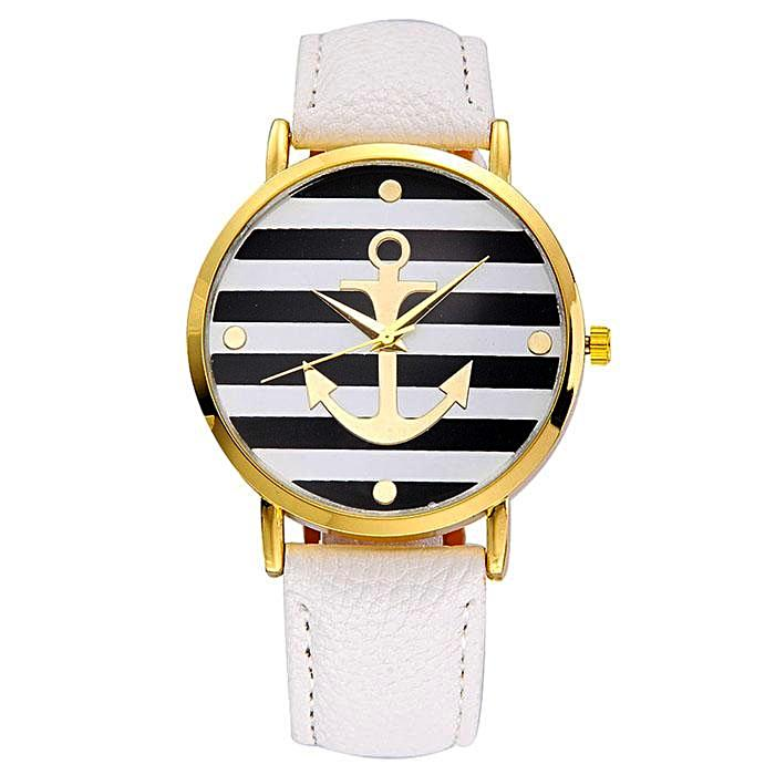 Olivia Nautical Leather Watch