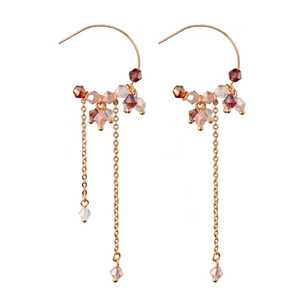 Layla Crystal Bead Earrings KEISELA