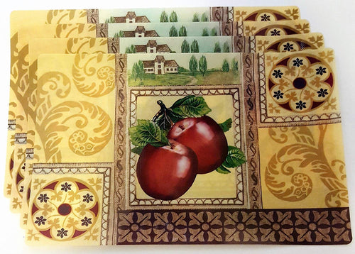 Apples Placemats Set KEISELA