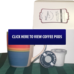 Java Jake's offers Keurig compatible coffee pods in all of our single origin and coffee blend flavors.