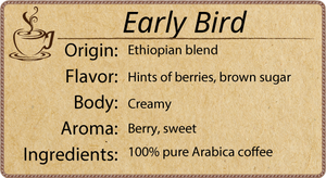 Early Bird Blend - 1 Pound