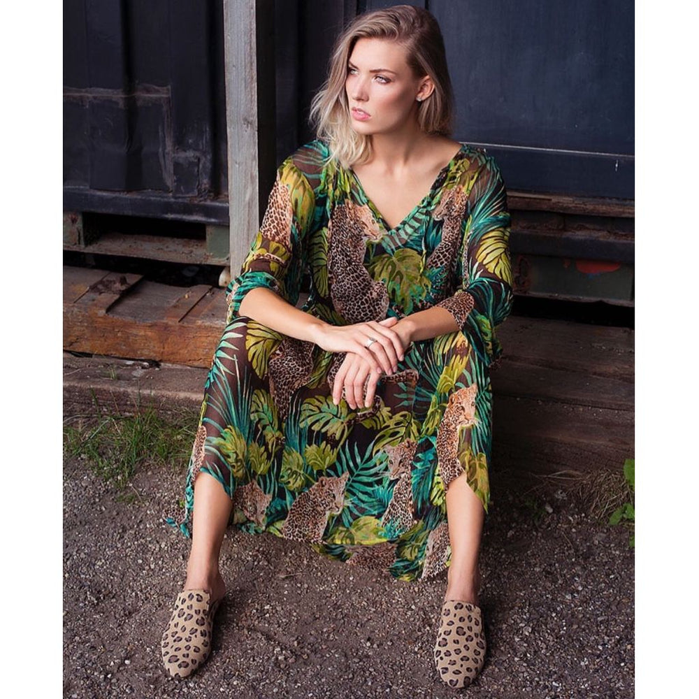 Unlimited Edition Fanny, Jungle print Dress Jungle print