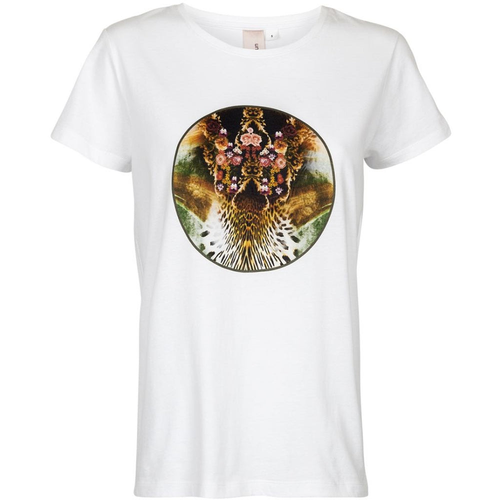 Leopard flower - White
