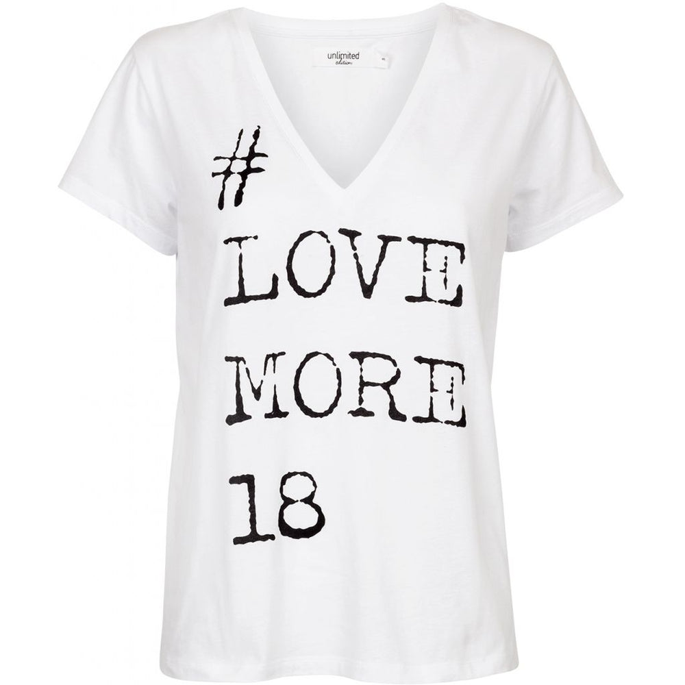 #love more - White