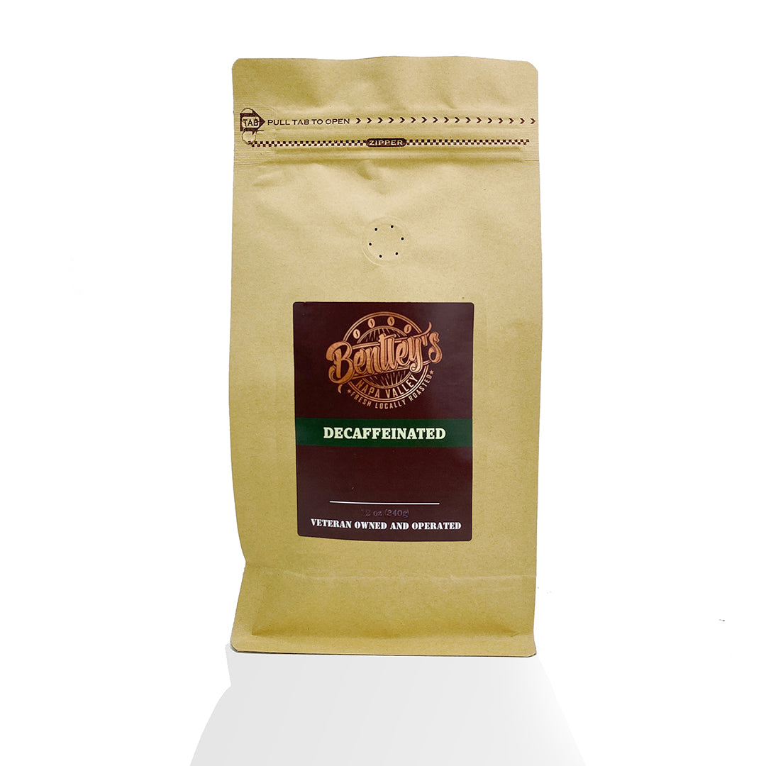 Bentley's - Colombia Water Decaffeinated - Full City Plus Roast