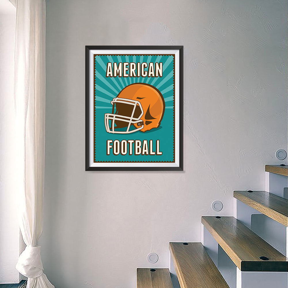 Retro Sports Series Posters