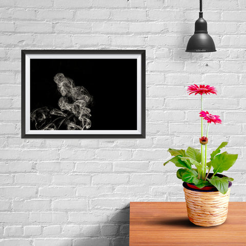 Ezposterprints - Abstract Smoke - 12x08 ambiance display photo sample