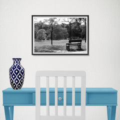 Ezposterprints - Bench In The Park - 18x12 ambiance display photo sample