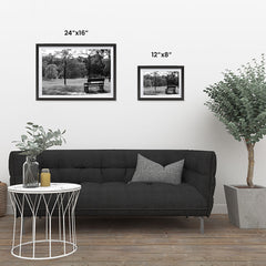 Ezposterprints - Bench In The Park ambiance display photo sample