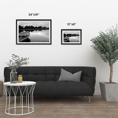 Ezposterprints - Boat In A Pond ambiance display photo sample